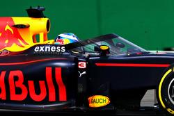 Daniel Ricciardo, Red Bull Racing RB12 con el aeroscreen