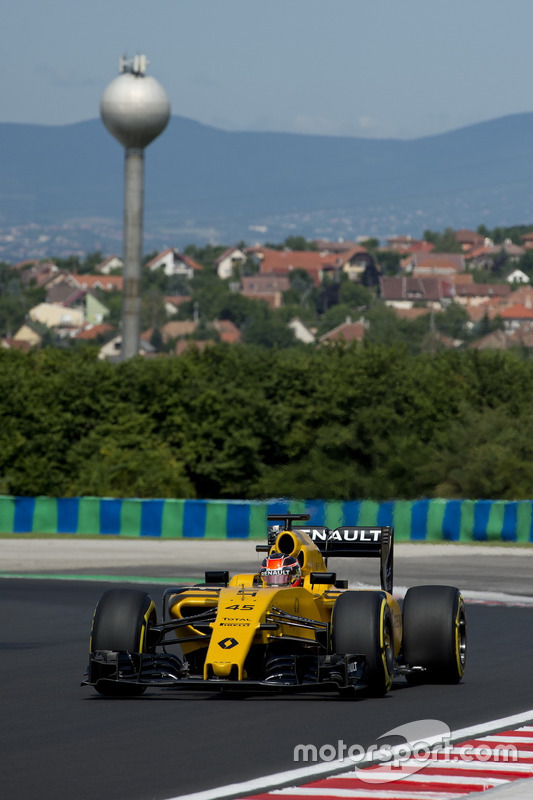 Estaban Ocon, Renault Sport F1 Team, RS16