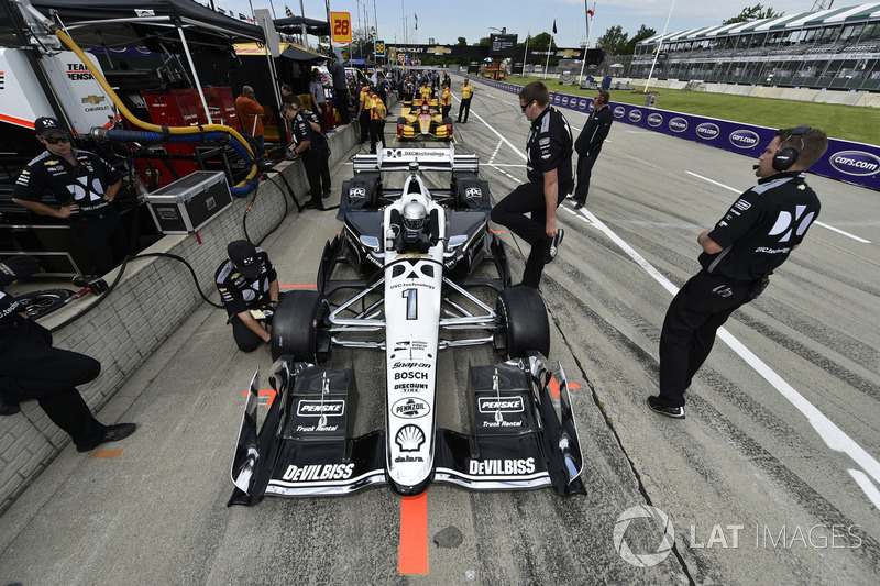 8. Simon Pagenaud, Team Penske Chevrolet