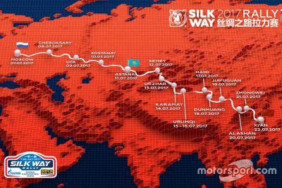 Presentación Silk Way Rally