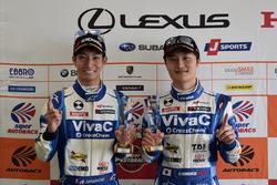 GT300 Polesitters #25 Team Tsuchiya Toyota MC86: Takamitsu Matsui, Kenta Yamashita