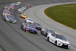 Toyota Camry Pace Car, Kyle Busch, Joe Gibbs Racing Toyota and Denny Hamlin, Joe Gibbs Racing Toyota