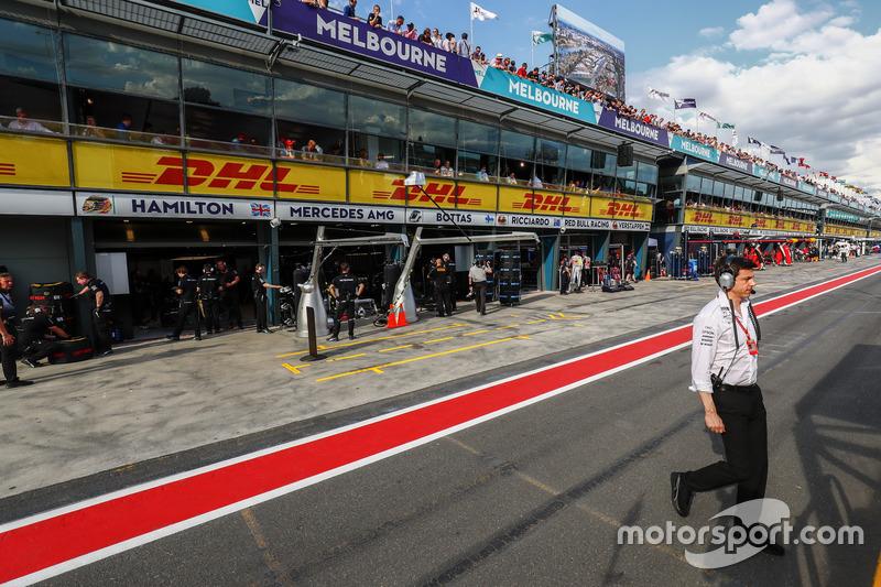Toto Wolff, Teamchef, Mercedes AMG F1