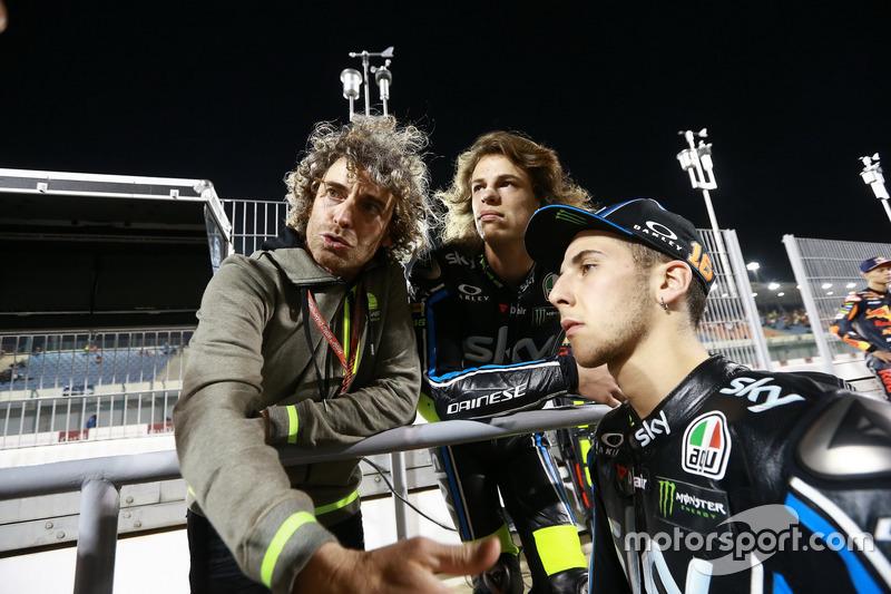 Nicolo Bulega, Sky Racing Team VR46; Andrea Migno, Sky Racing Team VR46