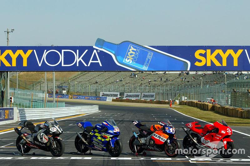 Bikes für die MotoGP-Saison 2002