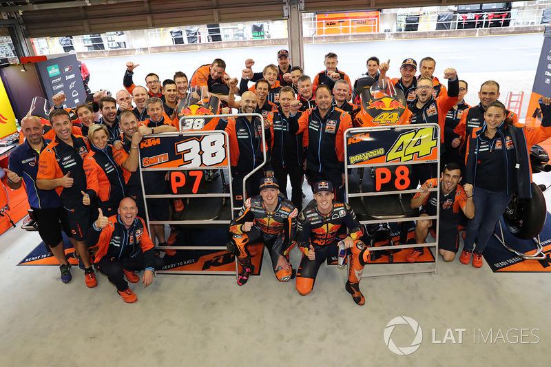 Bradley Smith, Red Bull KTM Factory Racing, Pol Espargaro, Red Bull KTM Factory Racing