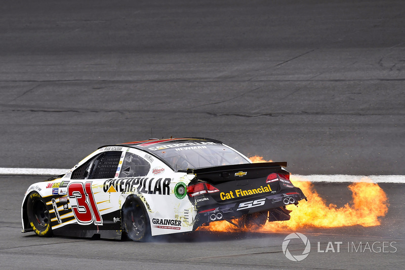 #3: Es brennt bei Ryan Newman!