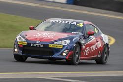 Motorsport.com's Australian Editor Andrew van Leeuwen in the Toyota 86 race car
