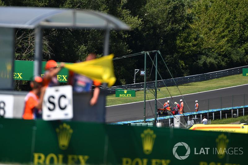 Жовтий прапор та Даніель Ріккардо, Red Bull Racing RB13