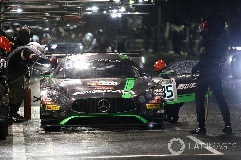 #85 HTP Motorsport Mercedes-AMG GT3: Edward Sandstr?m, Fabian Schiller, Dominik Baumann