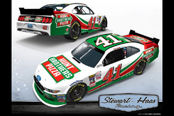 Livery of Kevin Harvick's 2017 Xfinity Series