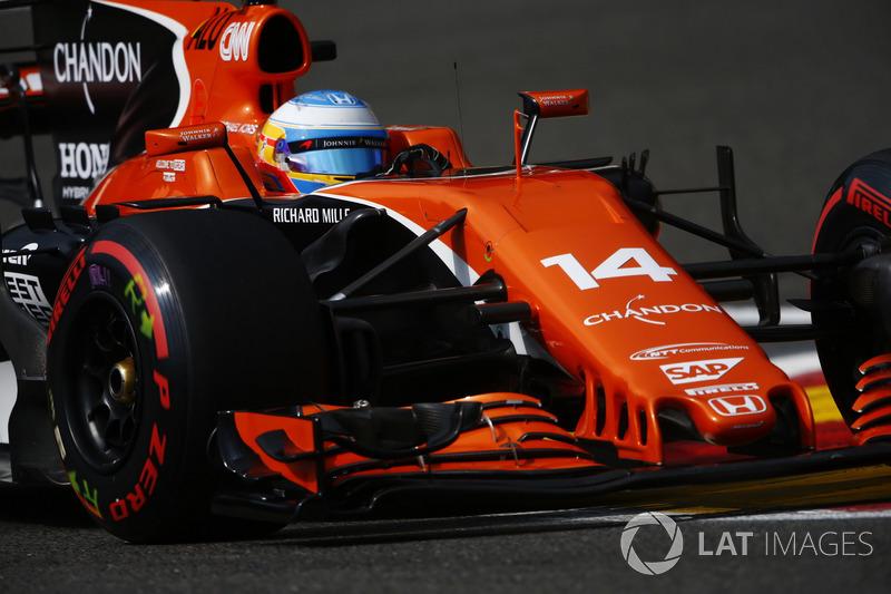 11: Fernando Alonso, McLaren MCL32