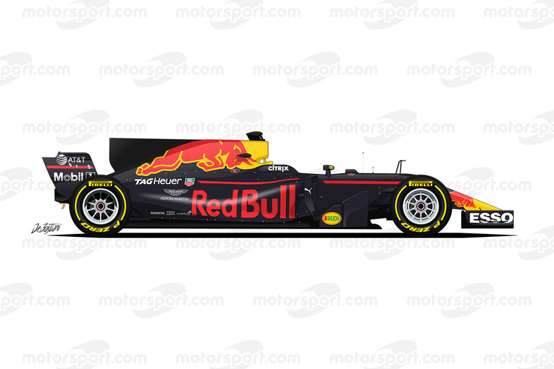 Red Bull RB13 TAG Heuer