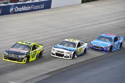 Paul Menard, Richard Childress Racing Chevrolet, Michael McDowell, Leavine Family Racing Chevrolet, Regan Smith, Richard Petty Motorsports Ford