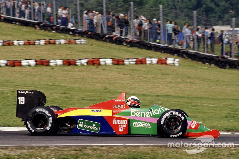 Teo Fabi, Benetton B187 Ford