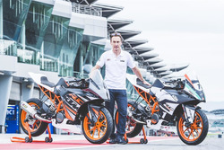 Jeremy McWilliams, KTM RC Cup Asia