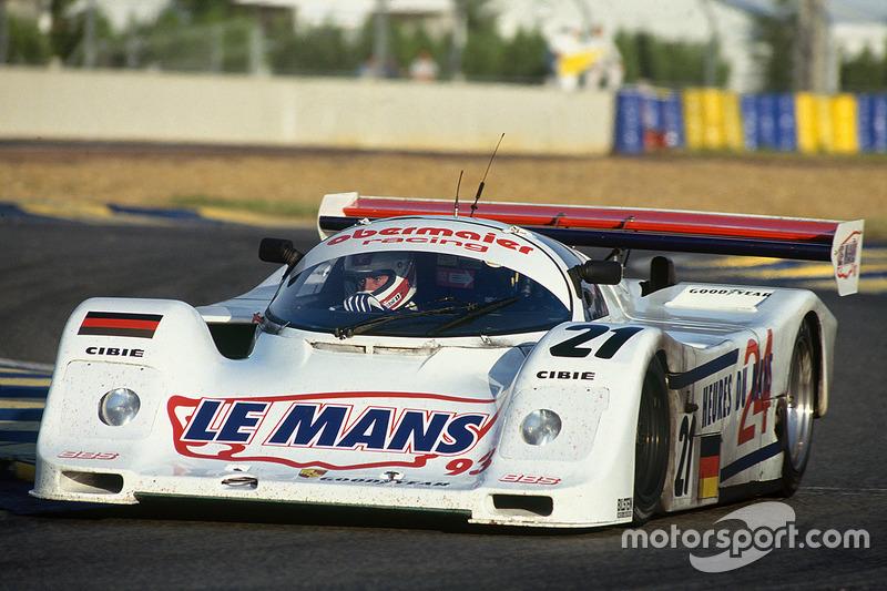 1993 год. Экипаж Отто Альтенбаха, Юргена Оппермана и Лориса Кесселя, Porsche 962C