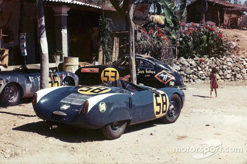 Porsche en la Panamericana de 1954
