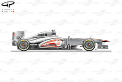 McLaren MP4/28 side view, Brazilian GP