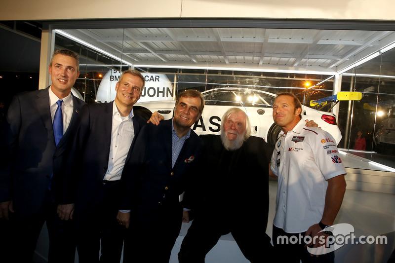 Ed Bennett, Director Ejecutivo INSA; Jens Marquardt, BMW Motorsport Director; Ludwig Willisch, BMW N