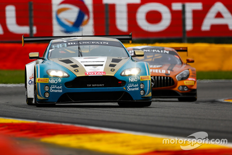 15. #97 Oman Racing Team with TF Sport, Aston Martin V12 GT3