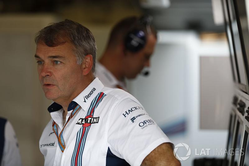 Командний менеджер Williams F1 Даевід Реддінг