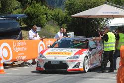 Rolf Reding, Toyota GT86, Swiss Race Academy, Start