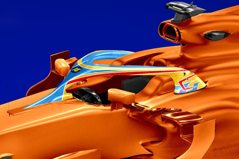Fernando Alonso, McLaren Halo