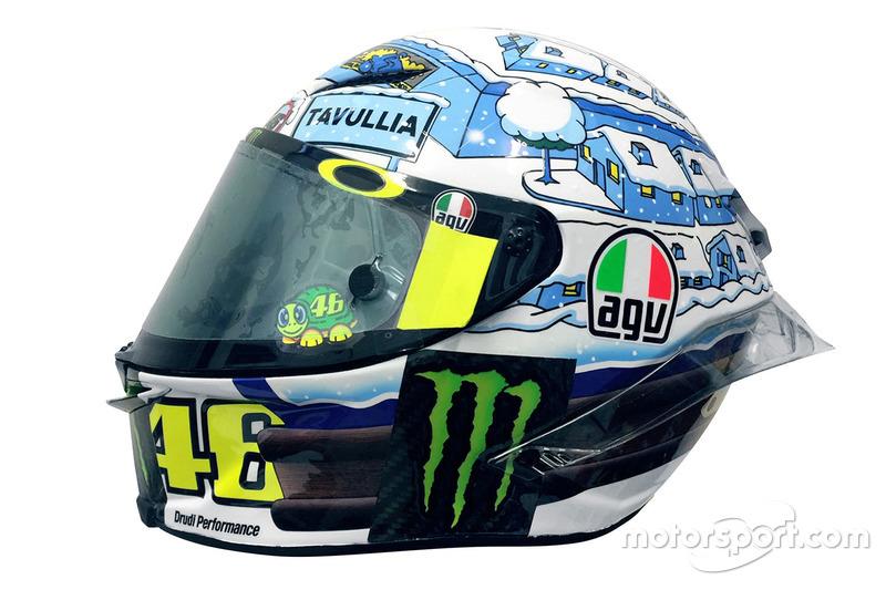Casco de Valentino Rossi, Yamaha Factory Racing