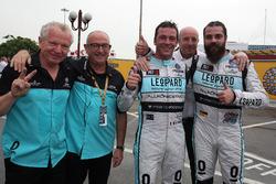 Jean-Karl Vernay, Leopard Racing, Volkswagen Golf GTI TCR and Stefano Comini, Leopard Racing Team Volkswagen Golf GTI