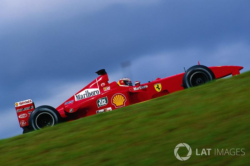 1999年ブラジルGP:ミハエル・シューマッハー(フェラーリF399)