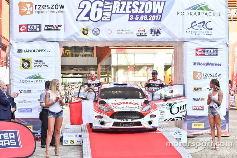 Бріан Буфф'є, Гільбер Діні, Ford Fiesta R5, Gemini Clinic Rally Team