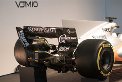 Force India VJM10: Heckpartie