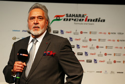 Виджей Малья, владелец Sahara Force India F1 Team