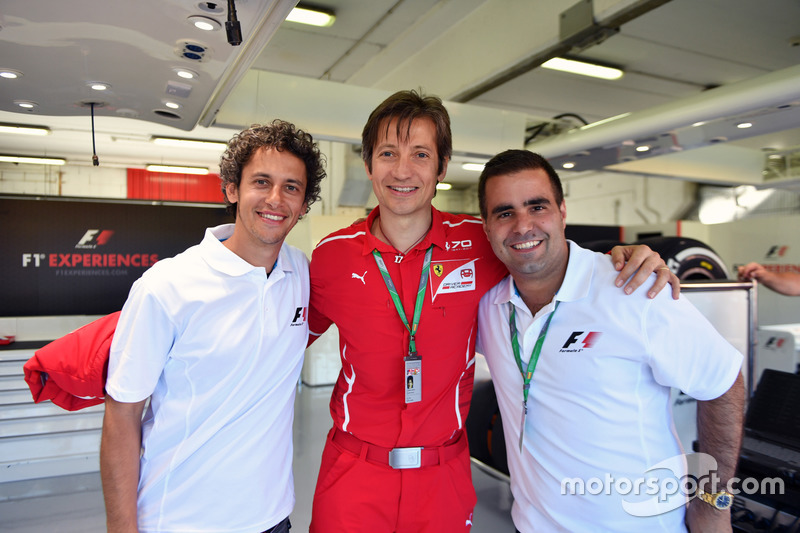 Массимо Ривола, Ferrari, и Жолт Баумгартнер