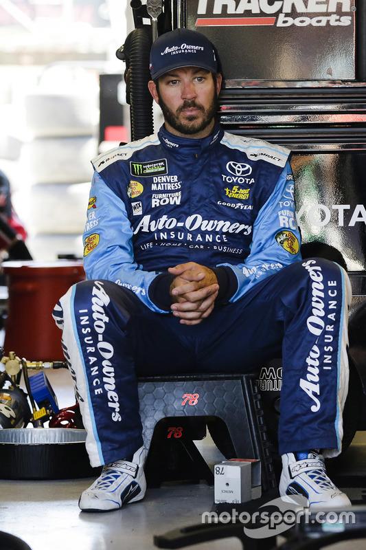 Martin Truex Jr Furniture Row Racing Toyota At Kansas