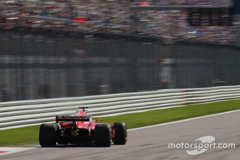 Sebastian Vettel, Ferrari: 2º