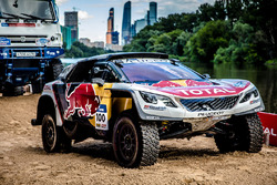 #100 Peugeot Sport Peugeot 3008 DKR : Cyril Despres, David Castera
