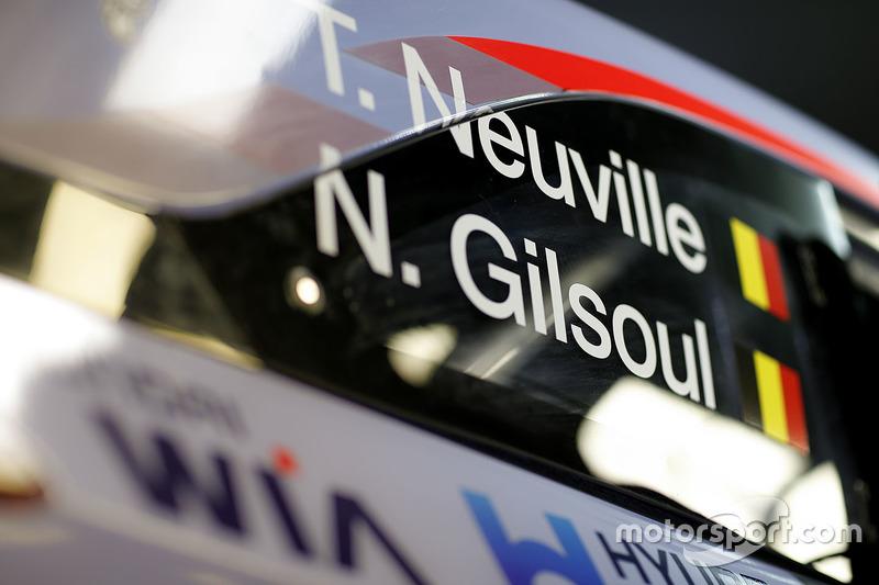 Thierry Neuville, Nicolas Gilsoul, Hyundai i20 Coupe WRC, Hyundai Motorsport