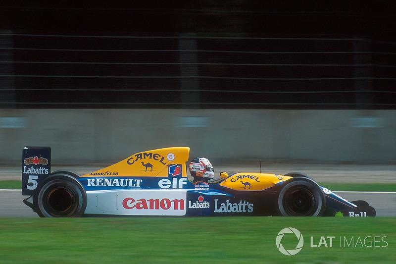 Nigel Mansell, Williams FW14B
