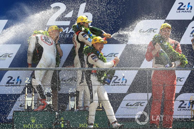 LMP2 podio: David Cheng, DC Racing