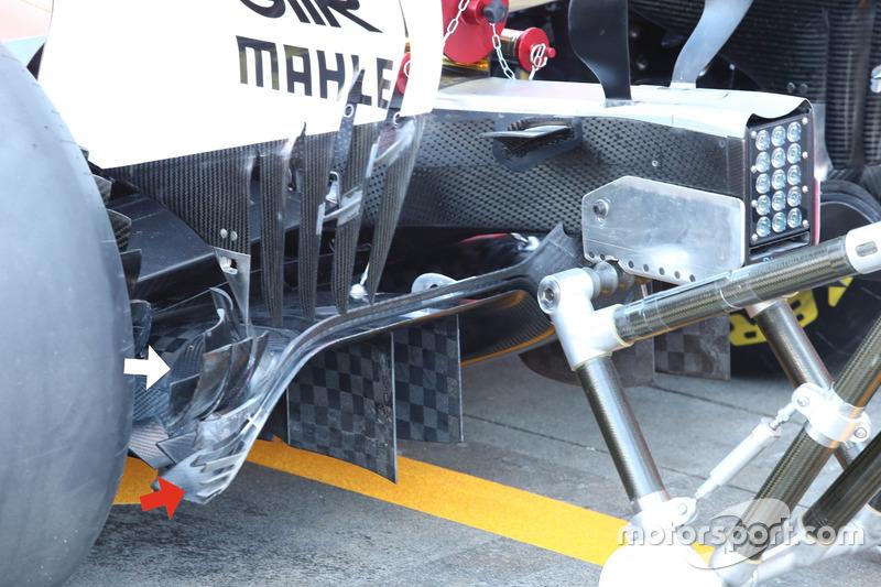 Диффузор Ferrari SF70H