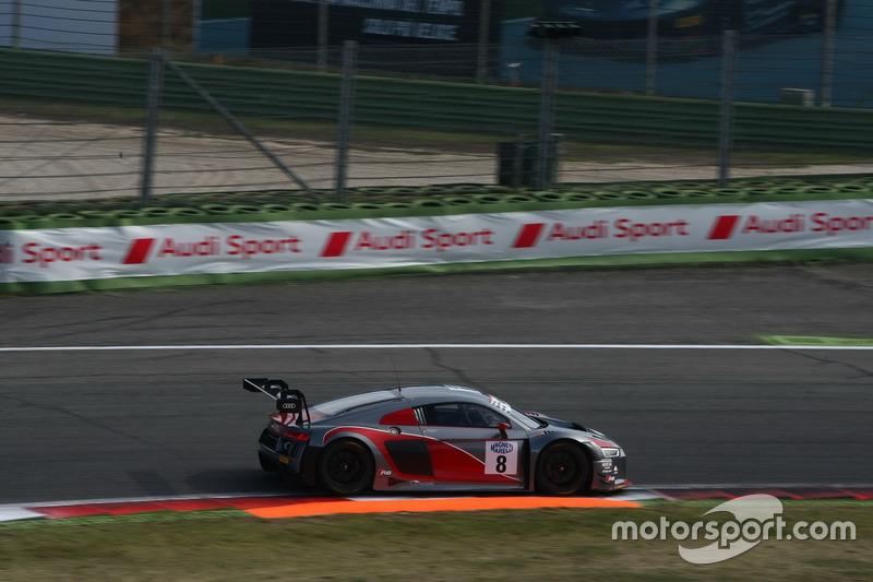 Audi R8 LMS #8, Mapelli-Albuquerque, Audi Sport Italia e BMW M6 GT3 #15 Comandini-Cerqui, BMW Team Italia