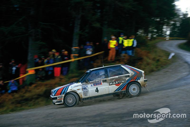 Juha Kankkunen, Juha Piironen, Lancia Delta HF 4WD