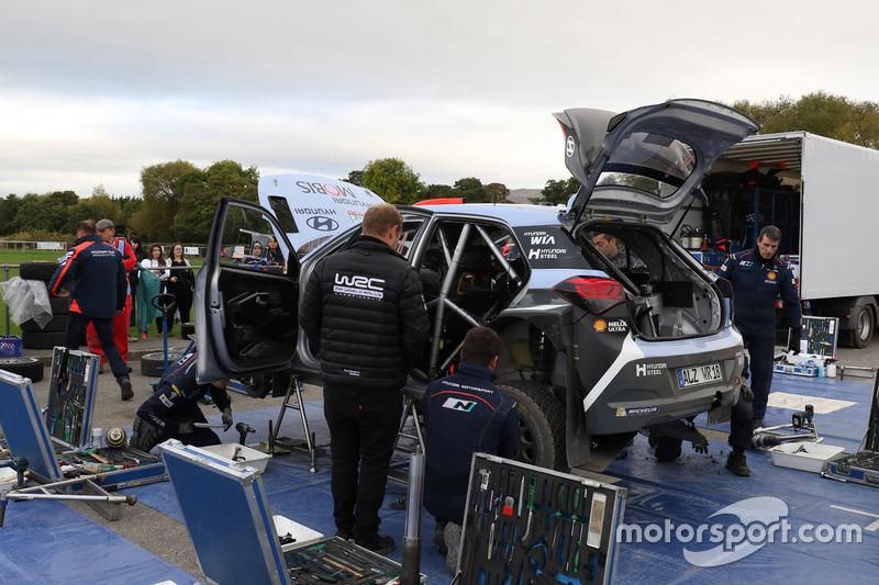 دانيال سوردو ومارك مارتي، هيونداي آي20 دبليو آر سي، هيونداي موتورسبورت