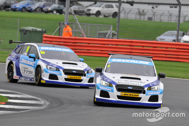 #4 Colin Turkington, Subaru Team BMR, Subaru Levorg GT