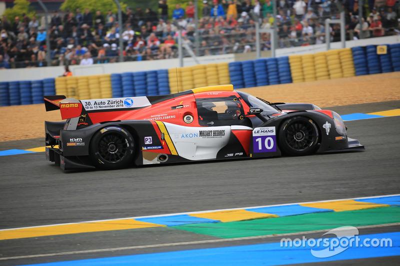 #10 Race Performance Ligier JPS3 - Nissan: Marcello Marateotto, Giorgio Maggi