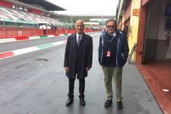 Angelo Sticchi Daminani, Presidente ACI-CSAI e Giancarlo Minardi