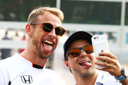 Дженсон Баттон, McLaren, Феліпе Масса, Williams на параді пілотів