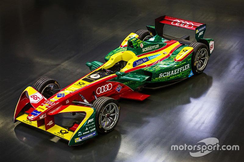 Audi Team ABT Schaeffler, nuova vettura